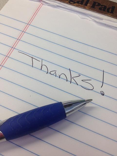 感謝の大切さを本で知った瞬間